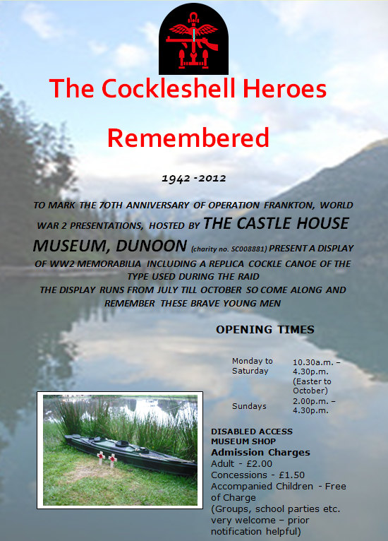 Cockleshell Heroes at Castle House