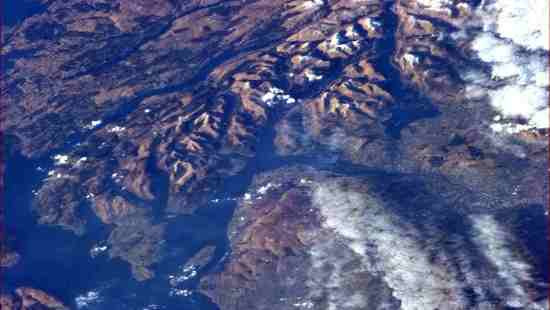 Firth of Clyde from ISS