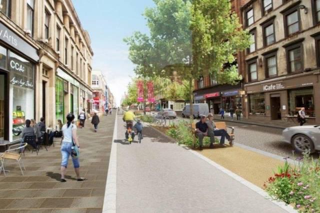 Sauchiehall Street Transformed