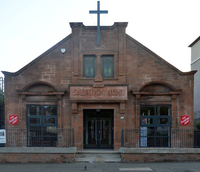 Tollcross Road Salvation Army Building