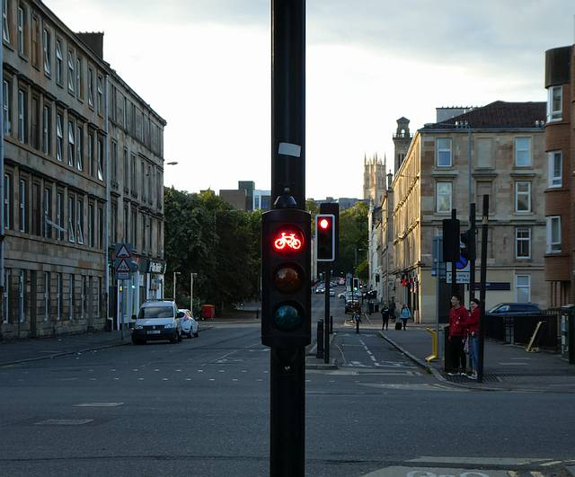 Cycle Priority Traffic Lights