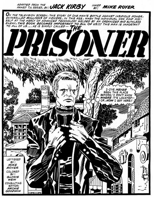 Jack Kirby Prisoner Comic