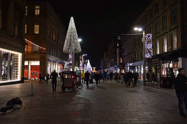 Christmas in Buchanan Street