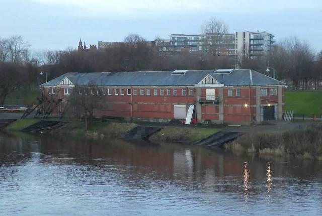 West Boathouse From Bridge
