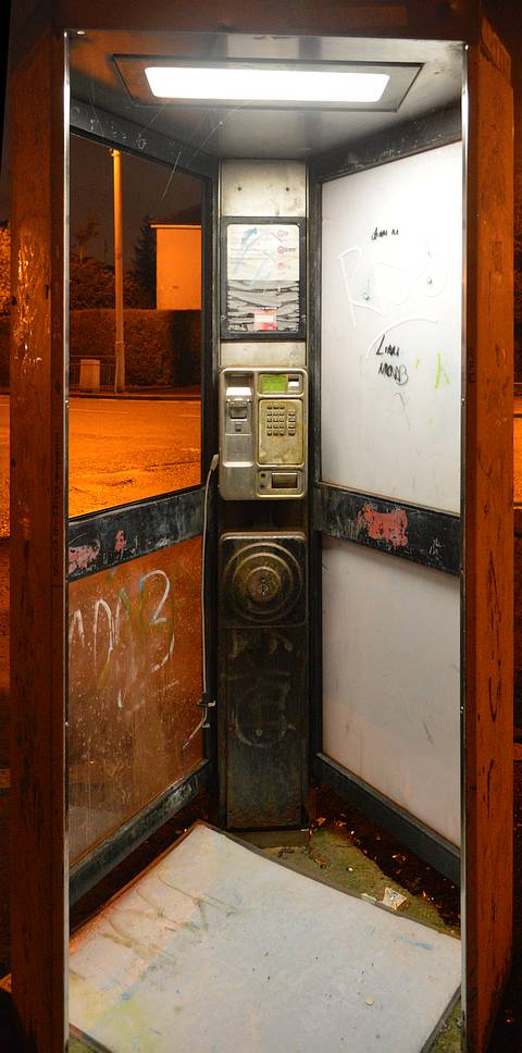 Glasgow phone box