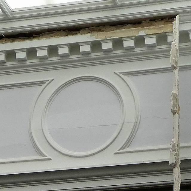 Kelvingrove Plaster Detail