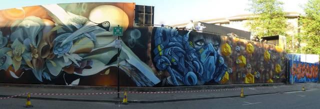 Mural stitch